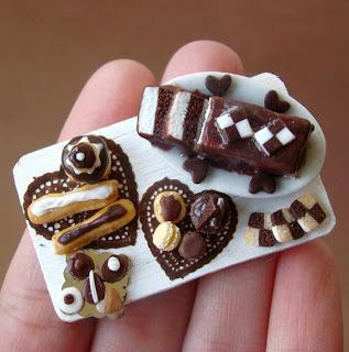 Chocolates miniatura