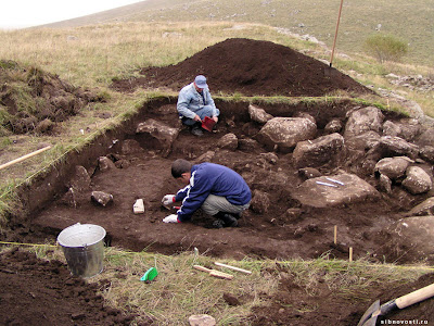 Scythian burial unearthed in South Kazakhstan