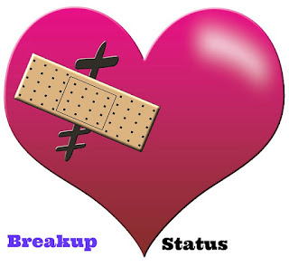 breakup status for whatsapp and facebook