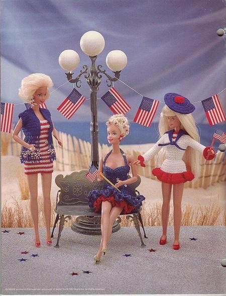 Crochê Para Barbie  Maiô, Toalha, Chapéus e Vestidos Para Bonecas