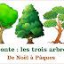 Conte de Noël à Pâques : Les trois arbres