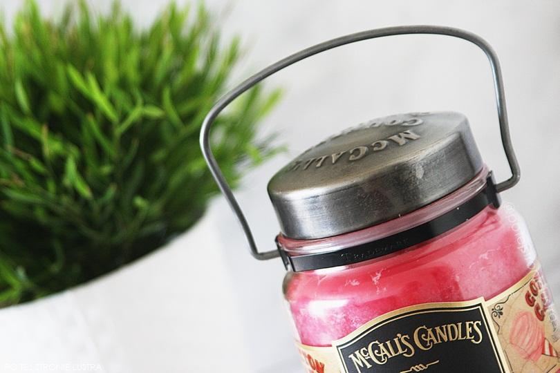 pokrywka i uchwyt świecy mccall's candles