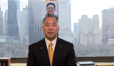文字版:郭文贵向金正恩发出的警告,对北朝鲜国家安全和两位个人安全有重大爆料