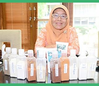 Pendiri Ocean Fresh Perawatan Kecantikan Terbuat Dari Rumput Laut Linawati Hardjito