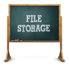 Oak Flat File Storage Cabinets