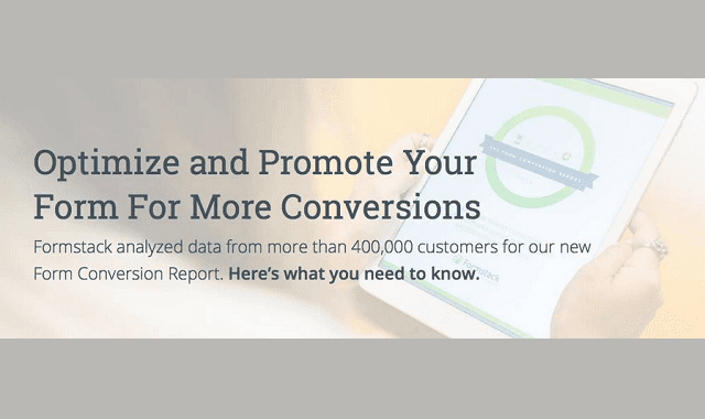 Image: Optimize and Promote Your Form for More Conversions