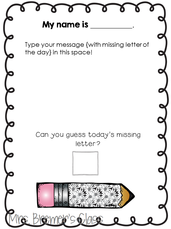 Morning Messages for young learners to reinforce literacy and reading skills. Tons of options, and it's all editable! Common Core aligned. A perfect way to begin each day of the school year! #morningmessages #morningmessage #literacy #reading #kindergarten #backtoschool #teachingideas #education #phonics