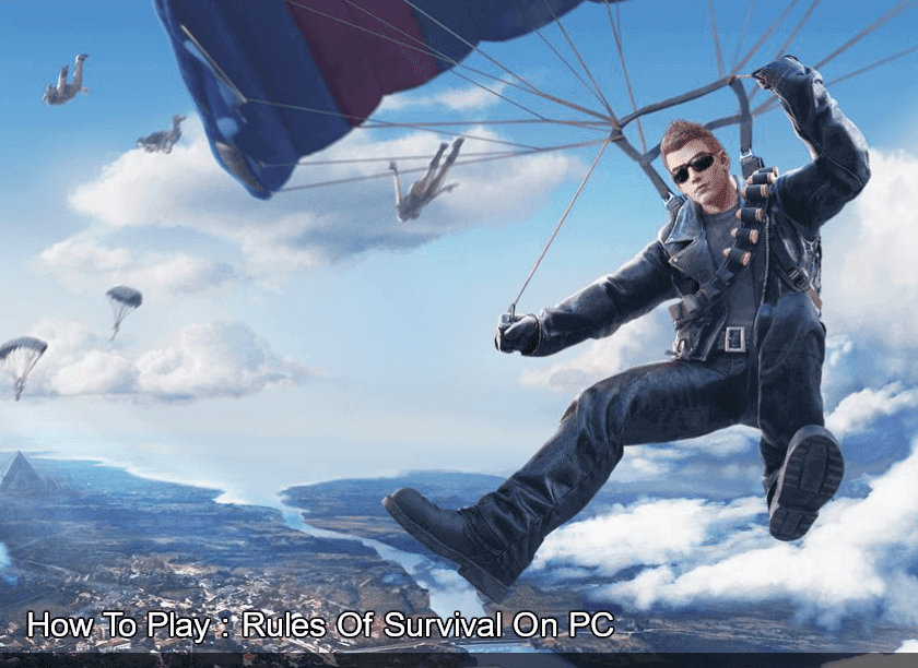 Cara Install Rules Of Survival di PC Laptop