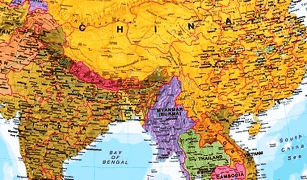 letak astronomis, geografis dan geologis myanmar