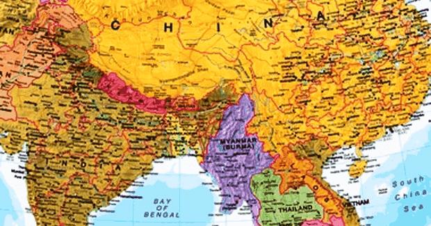 Gambar Negara Myanmar Letak Astronomis Geografis Dan Geologis Negara Myanmar Serta Keuntungannya Geologinesia