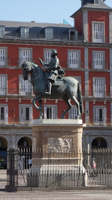 Estatua ecuestre de Felipe III. Plaza Mayor de Madrid