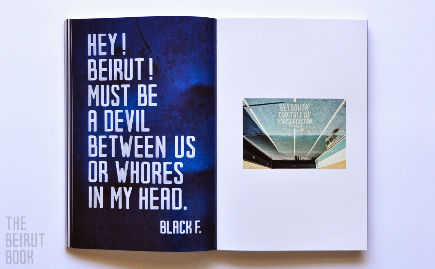 The Beirut Book by David Hury