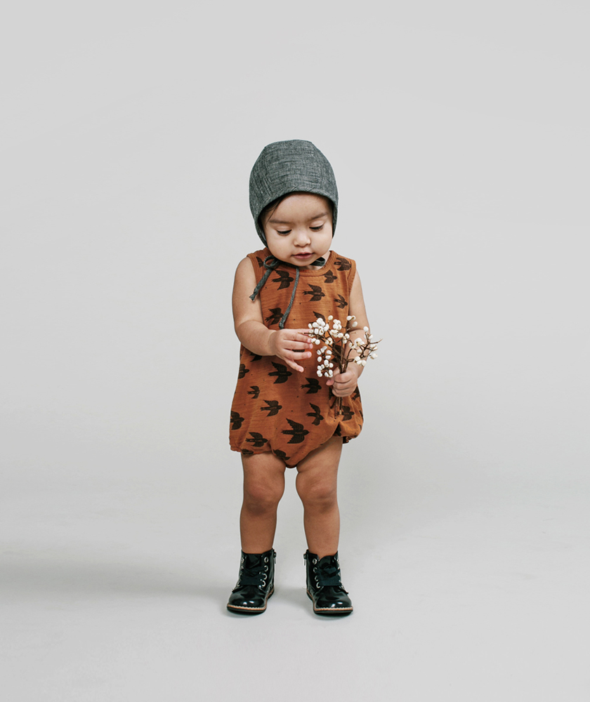 Rylee + Cru AW16 collection - swallow bubble onesie