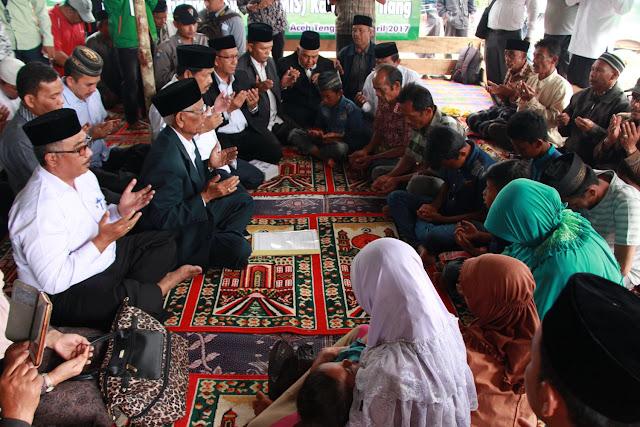11 Orang Katholik di Aceh Tengah Masuk Islam