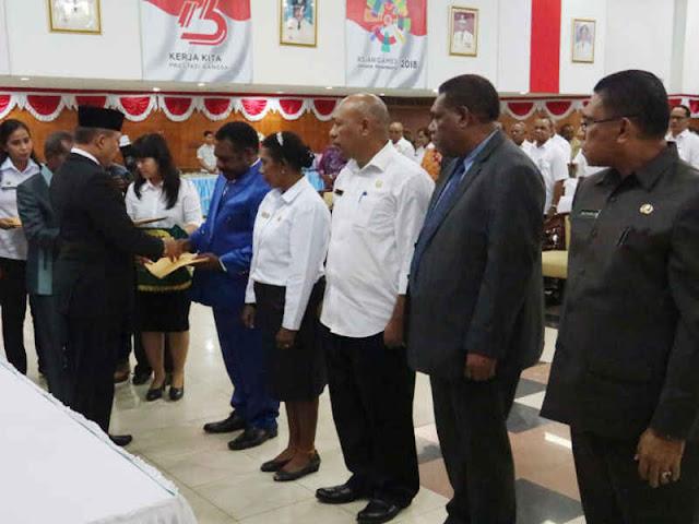 Ganti Kepala SKPD di Penghujung Jabatan, Soedarmo Sudah Koordinasi dengan Lukas Enembe
