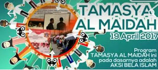 Tamasya Al-Maidah Syukuri Kemenangan Anies-Sandi