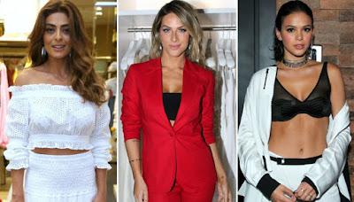 Famosas e a Moda tendências 2018