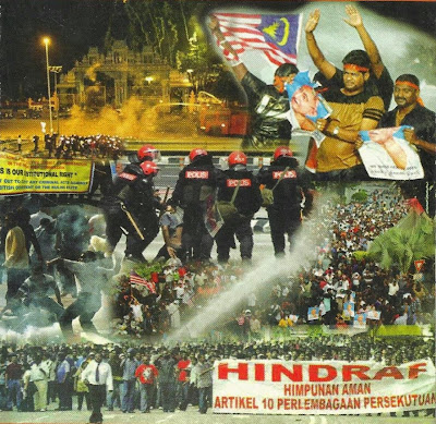 Image result for Malaysia Ethnic-Indian Hindraf Uprising