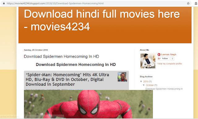 Hindi Movie Blog In Blogger