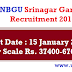 HNBGU Assistant Professor, Associate Professor Post Recruitment 2016