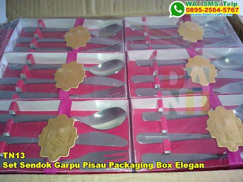 Jual Set Sendok Garpu Pisau Packaging Box Elegan