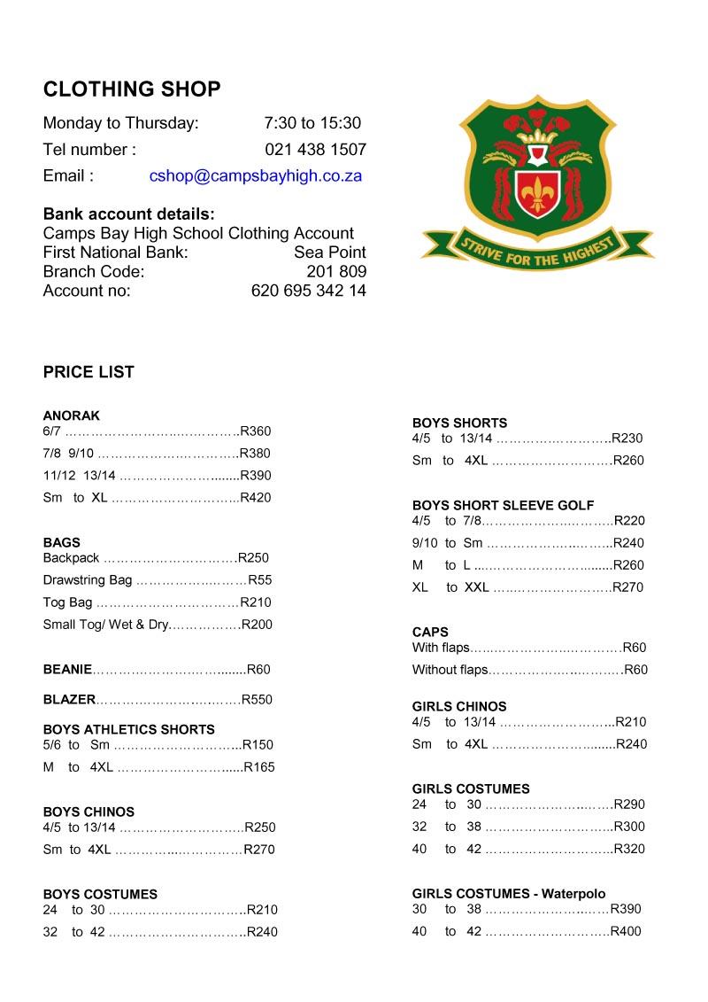lps price list 2016 pdf