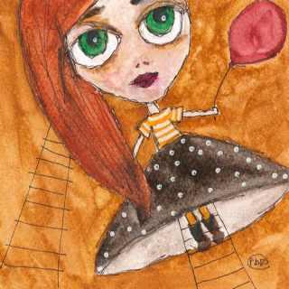 Куклы в детской одежде. Paola Di Renzo
