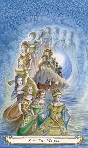 Tarot Musings Using Tarot Reversals: Tarot Musings: My Fairy Tale Spread