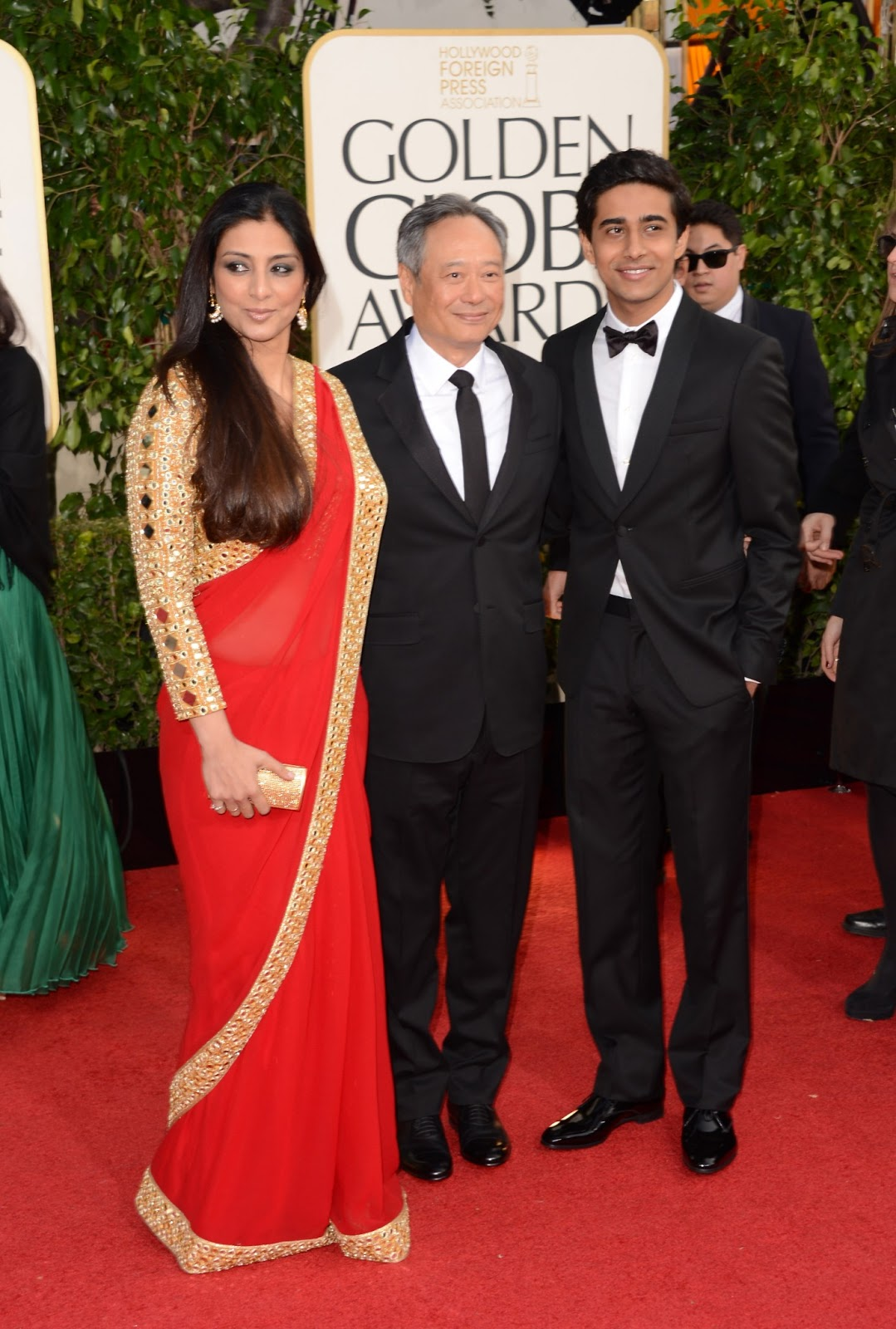 Tabu at golden globe awards for movie life of pi
