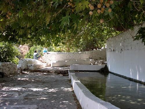 Donoussa, sorgente di Fokospilia