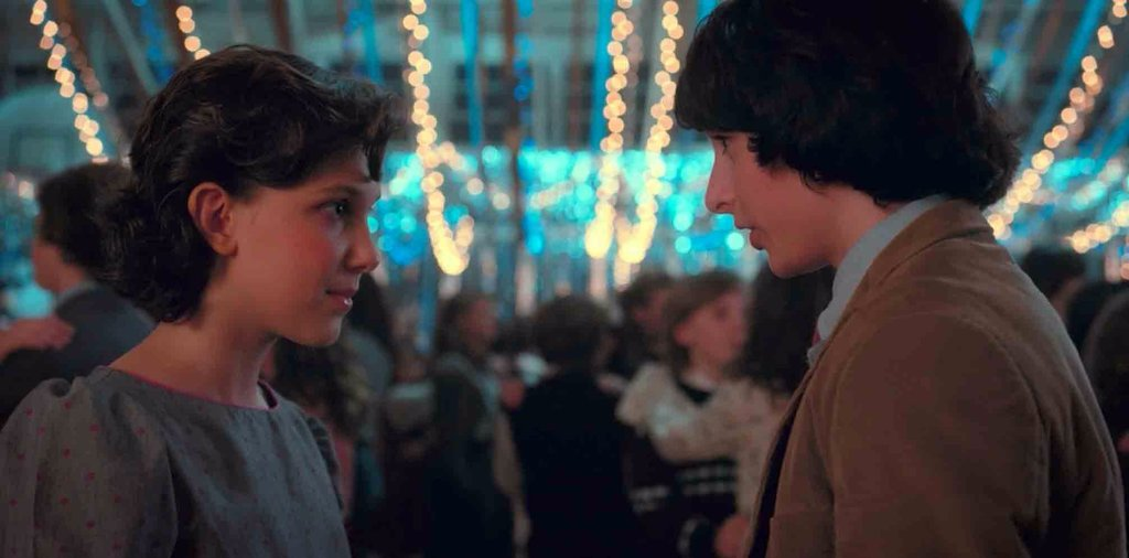 Eleven y Mike (Stranger Things)
