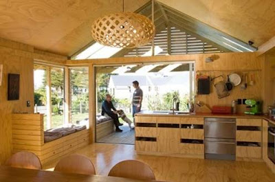 Foto Desain Interior Rumah Kayu Modern Terbaik