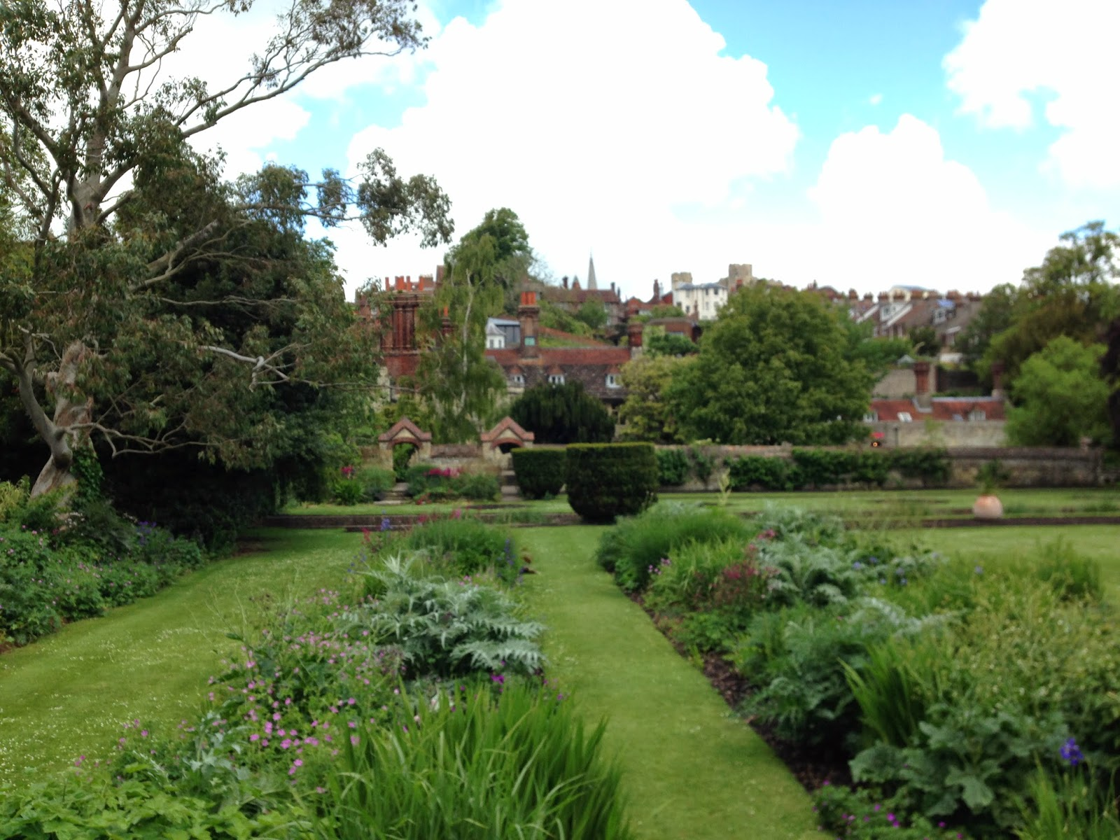 Southover Grange gardens and house