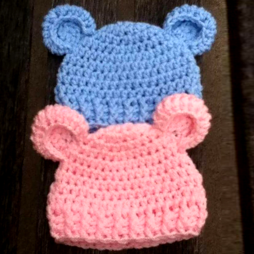 Baby Bear - Simple Baby Beanie - Free Pattern