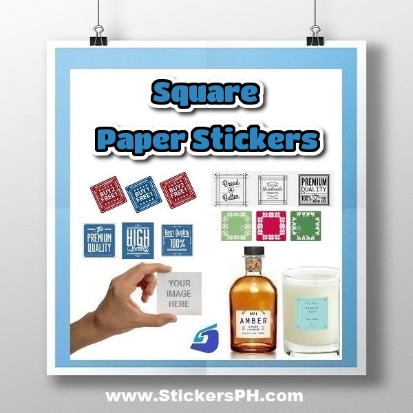 Square Paper Sticker Labels Philippines