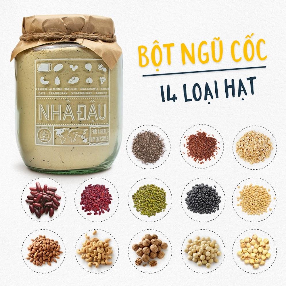 Combo ăn vặt Nhà Đậu: Dinh dưỡng vàng cho Mẹ Bầu Việt Nam
