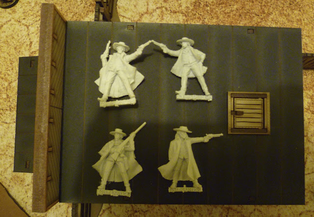 Black Scorpion miniatures Tombstone Earps. Old West Gaming.