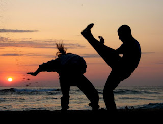 Bairro Jaraguá sedia encontro de capoeira