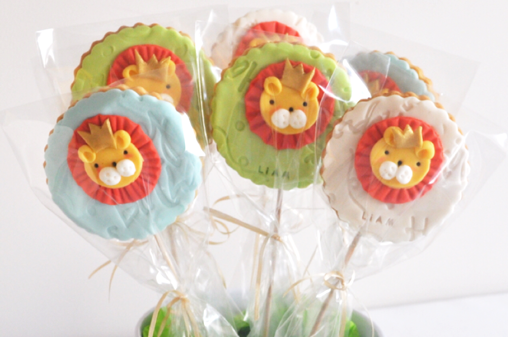 cookie pop roi lion
