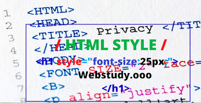 HTML style