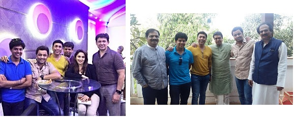 Mahesh kale with celebrities
