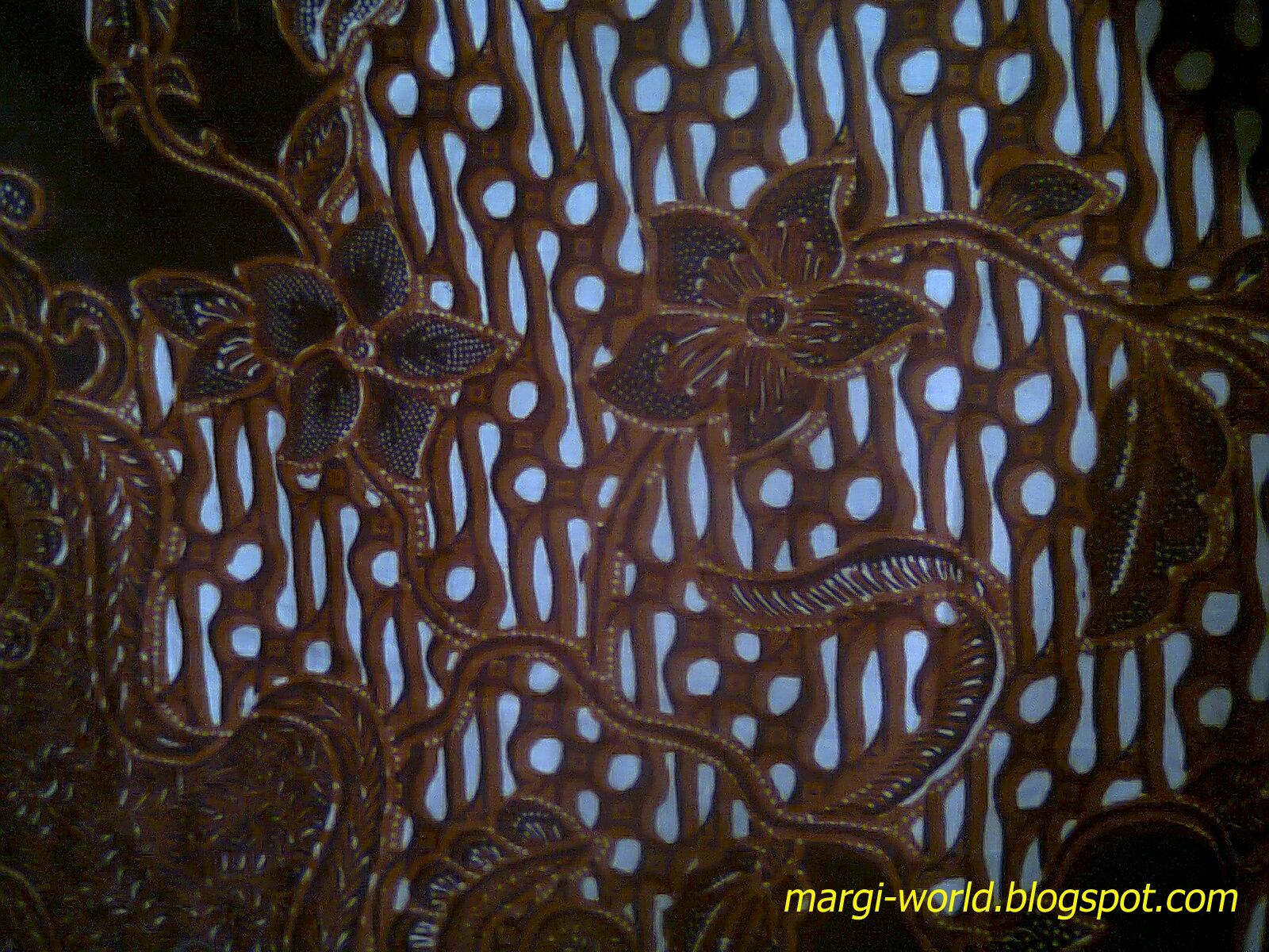 Contoh sebuah Desain Batik Modifikasi