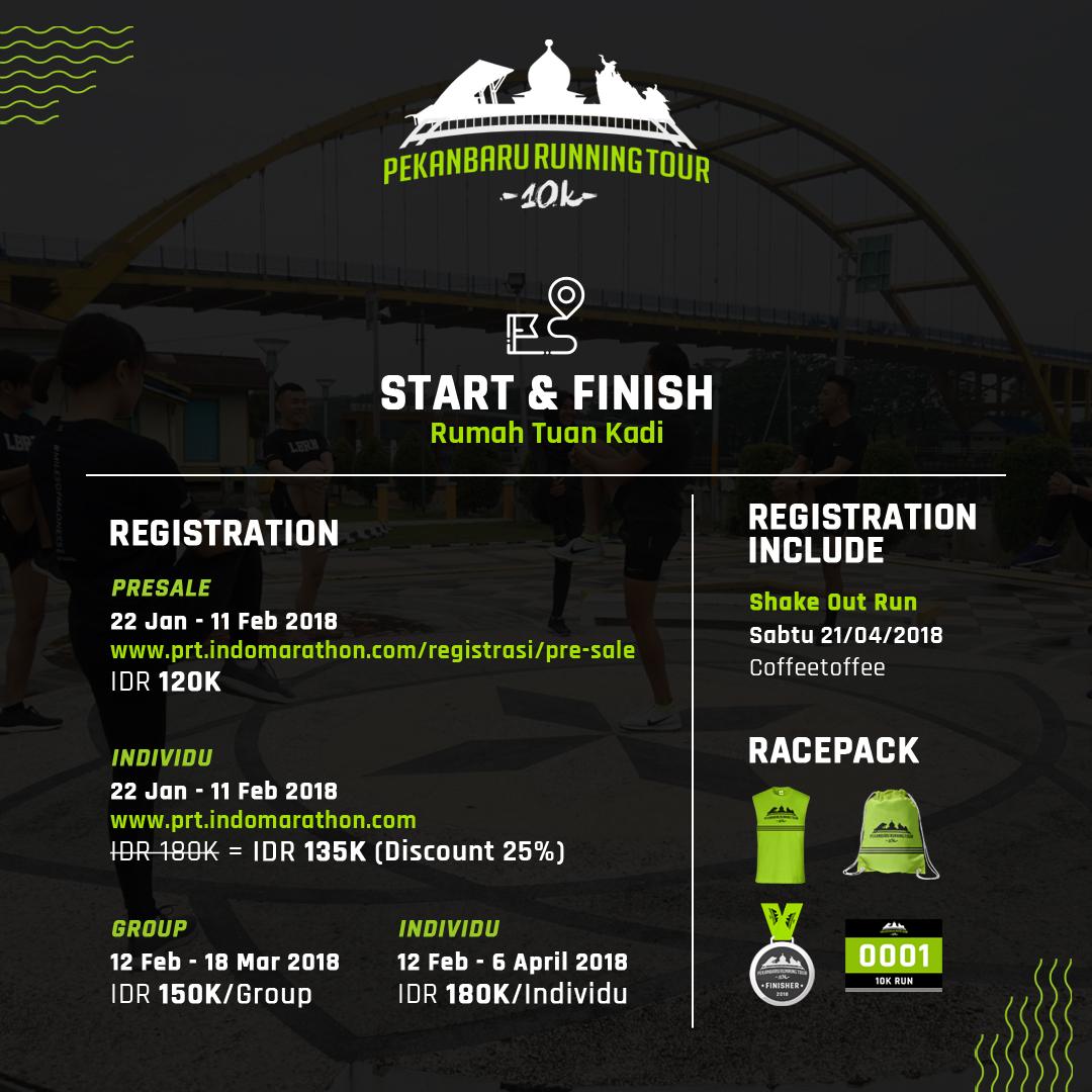 Pekanbaru Running Tour • 2018