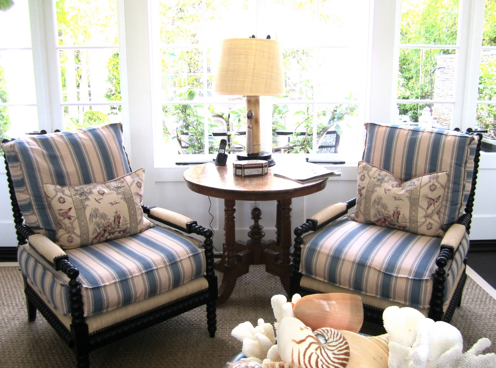 Classic • Casual • Home: Classic Beach Family Room, Hyphen