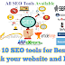 Top 10 SEO tools for Best Rank your website and blogs