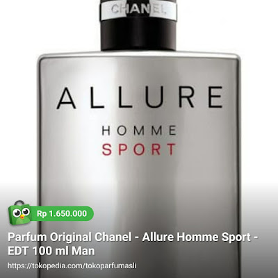 toko parfum asli parfum original chanel allure homme sport edt 100ml man