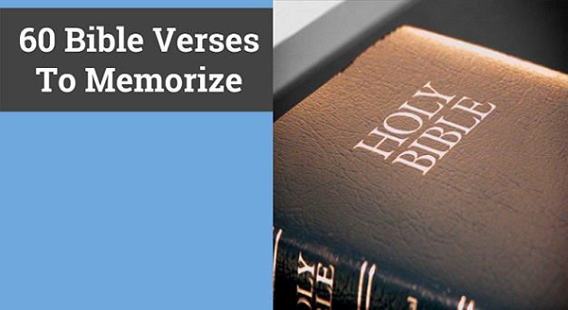 Best Bible Verses To Memorize