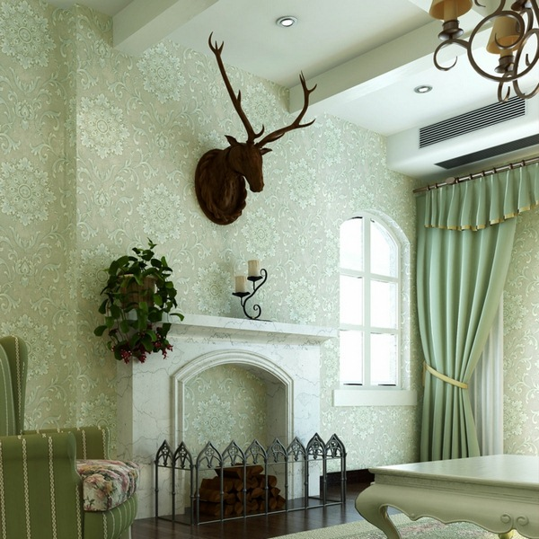 eye for design decorating with deer mounts for a french chateau look