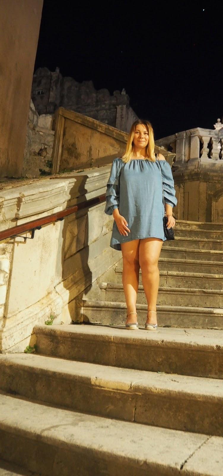 Cersei's GoT Croatian steps of shame in Dubrovnik