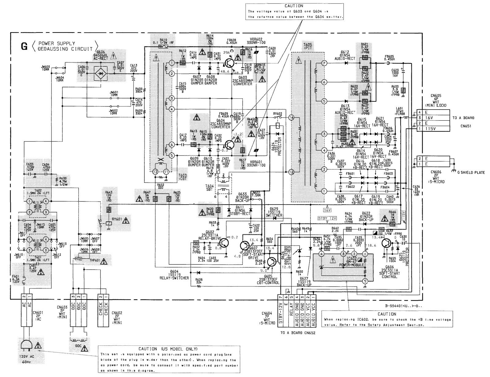 Schematic Diagram Tv Sony Trinitron: Sony kv fv trinitron